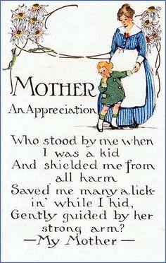 Vintage Mother's Day Appreciation