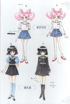 Sailormoon. Manga.