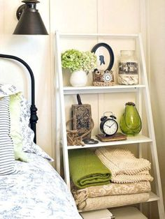 Know it says bedroom, but would love this for living room! - 48 Stunning Cozy Bedroom Storage Ideas For Small Space 29