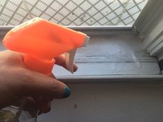 How to Clean Ugly Looking DIRTY Window Tracks Effectively via @Mamabeeblog