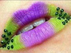 Lovely lip art      #makeup #lips