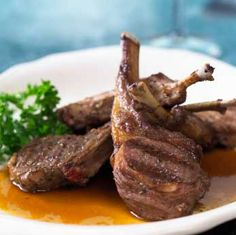 Low low low carb    Grilled Rosemary Lamb Chops