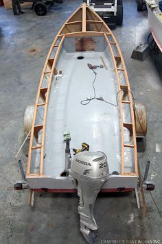 New Deck For a Little Skiff
