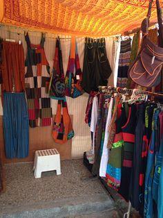 Hippie stall