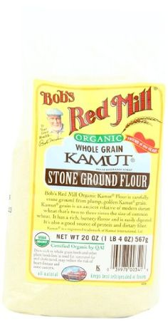 Bob's Red Mill Organic Kamut Flour, 20-Ounce « Lolly Mahoney
