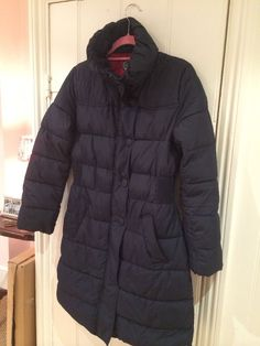 joules navy quilted Puffa jacket Size 14