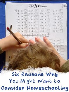 Why should a parent start - or keep - homeschooling? Here's an honest evaluation of six solid reasons on why you might want to consider homeschooling. Encouraging!