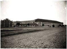 1907 ) – ASILO DOS ALIENADOS – às margens do Rio Tamanduateí.
