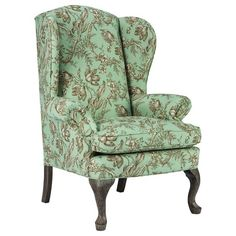 Best Home Furnishings Living Room Queen Anne Wing Chair 0710DC ❤ Liked On  Polyvore Featuring Home