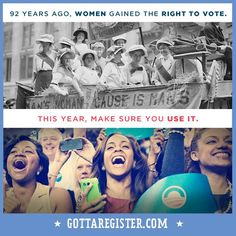 We owe the suffragettes so much... any woman nowadays that refuses their freedom to vote is arguably a disrespectful misogynist