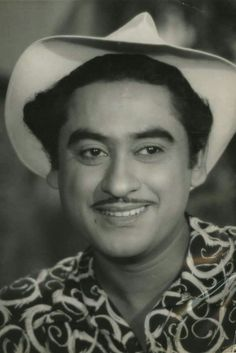 Singer and Actor Kishore Kumar Vintage Bollywood, Old Film Stars, Movie Stars, Iconic Album Covers, Free Avatars, Kishore Kumar, Legendary Singers, Old Faces, Romantic Mood
