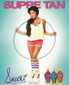 Isn't Snooki looking FAB these days? Get inspired by Nicole's transformation with her new Skinny lotions, coming soon from Supre Tan!