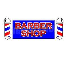 BARBER SHOP -Window Decal - hair salon parlor sign stylist chair sticker in Business & Industrial, Retail & Services, Business Signs Gentleman Barber Shop, Stylist Chair, Sign Display, Business Signs, Store Signs, Dining Table Chairs, Window Decals, New Sign, Store Fronts