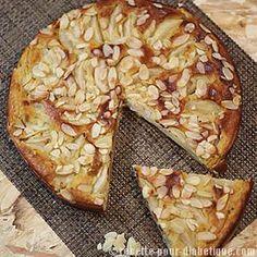 Gâteau à la Poire allégé et sans gluten
