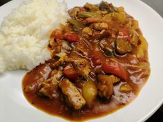 Katův šleh | Recept | Uvařsisám.cz Chana Masala, Curry, Food And Drink, Meals, Ethnic Recipes, Curries, Meal, Yemek, Food