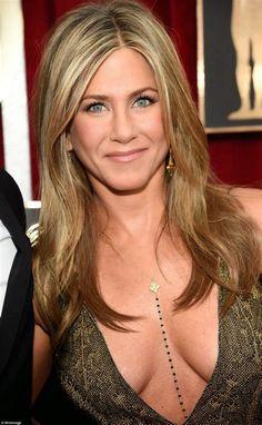 Image result for Jennifer Aniston Showing Bush