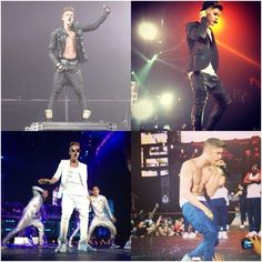 VIDEOS: Justin Bieber Concert at Gelredome in Arnhem, Netherlands