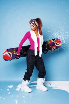 How to look hot on the slopes this winter! #LuxuryLinkSnowBoard