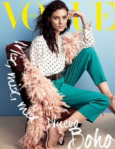 Vogue Espanha Novembro 2014 | Alessandra, Kati e Edita por Alexi Lubomirski [Capas]