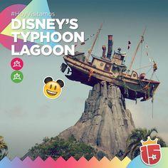 Los grupos #fucsiaJ16 y #verdeJ16 están en Disney Thypoon Lagoon!    #EstamosEnDisney con #Enjoy15