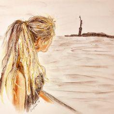 Freedom (Elin Holm -  Instagram: elinartholm) Freedom, Pastel, Drawings, Animals, Instagram, Art, Liberty, Animales, Political Freedom