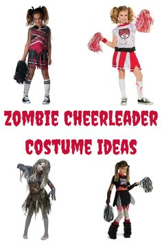Zombie Cheerleader Costume Ideas  sc 1 st  Pinterest & cheerleaders | Pinterest | Costumes Halloween costumes and Zombie ...