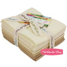 Oatmeal Bella Solids Fat Quarter Bundle 9900AB-21 - Fat Quarter Shop