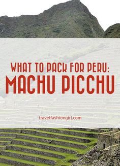 Hope you liked this Inca Trail and Machu Picchu tours packing list. Please don't forget to share the love on facebook, twitter and pinterest. Thanks for reading!