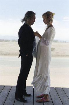 David Carradine & Uma Thurman in Kill Bill