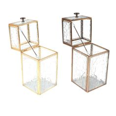 Vintage Metal Glass Jewelry Box Make Up Organizer Bracelet Earring Storage Box  Cosmetic Storage Box Makeup Organizer Storage-in Jewelry Packaging & Display from Jewelry & Accessories on Aliexpress.com | Alibaba Group
