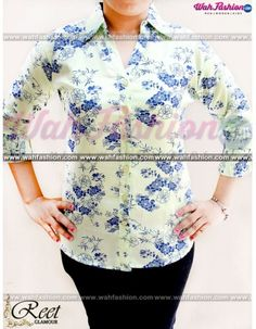 Take your summer look a notch higher with this Lemon Flower Printed Cotton Shirts from Reet Glamour. The interesting print of this shirt make it visually appealing. Ensuring good comfort and smoothness is the 100 % cotton fabric of this shirt. You can team this shirt with a pair of pants and wedges to look.  For more details whatsapp us: +919915178418