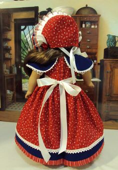 Historical Marie Grace July 4th Ready dress and by craftymagaw