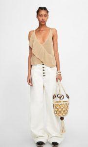 1df5eda870c0 Ανοιξιάτικη- Καλοκαιρινή collection Zara Μπλούζες Νέα γυναικεία collection  Zara Άνοιξη-Καλοκαίρι 2019!