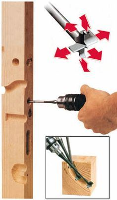 7mm drill bit that drill in all directions to hollow knife shealth, cabling…