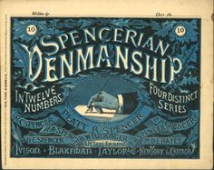 Before the typewriter in the late and early there was penmanship. It was choice for business correspondence and elegant personal writing. Most days we type or text instead of writing. They've given up on teaching cursive in schools. Vintage Ephemera, Vintage Ads, Vintage Books, Vintage Signs, Vintage Lettering, Lettering Design, Teaching Cursive, Handwriting Analysis, Business Correspondence
