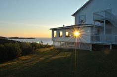 Photo Tour of Castle Rock Inn Ingonish Cape Breton Island Nova Scotia Cape Breton, Castle Rock, Atlantic Ocean, Nova Scotia, Tours, Cabin, Island, House Styles, Beautiful