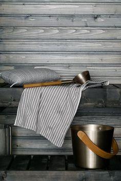 Ein tolles Sauna-Set und schon ist man perfekt ausgerüstet zum Entspannen