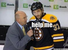 Pierre McGuire doesn't know about personal space.
