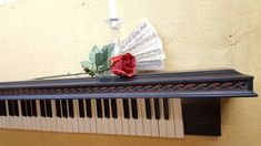 Elegant Piano Shelf with full 88 Keys by DinksBeauties on Etsy