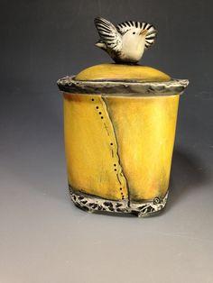 Ceramic Showcase 2016 Babette Harvey Lidded Box