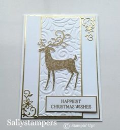 dashing deer christmas paper craftschristmas cards - Deer Christmas Cards