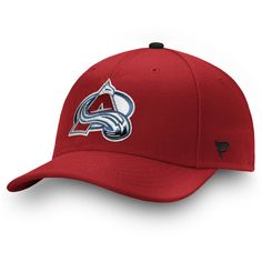 3364d529bf80d Men s Colorado Avalanche Fanatics Branded Burgundy Power Play Fitted Hat