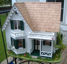 My Greenleaf Dollhouses: Greenleaf Westville Custom Dollhouse