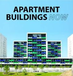 Apartment buildings now : conception et design: logments collectifs = innovación en vivienda colectiva, 2016. The exercise of creating homes for our ever-expanding populations is one of the greatest architectural challenges of today. Presenting a selection of projects by internationally renowned practices, that feature the latest technical and formal innovations while responding with creativity to the program, this detailed study explores the complexity of this fascinating typology.