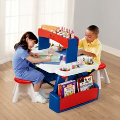 Costco UK - Step2 Creative Projects Table including Two Stools (3+ Years)