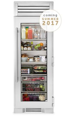 So, let\'s talk about the fridge, shall we? I\'ve wanted a glass door ...