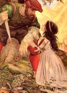 Charles Santore, Snow White  |  Snow's age here really puts a new slant on the story for me