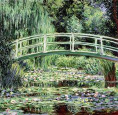 Claude Monet - White Waterlilies [1899] -