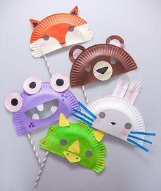 manualidades-infantiles-platos-mascaras