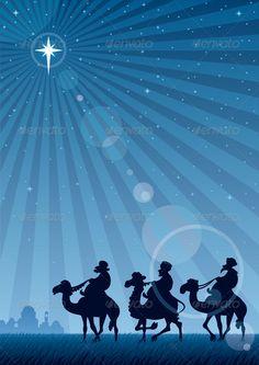 Star of Bethlehem — JPG Image #camel #greeting • Available here → https://graphicriver.net/item/star-of-bethlehem/135625?ref=pxcr